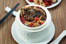 Double-boiled Tian Ma Fish Head Soup