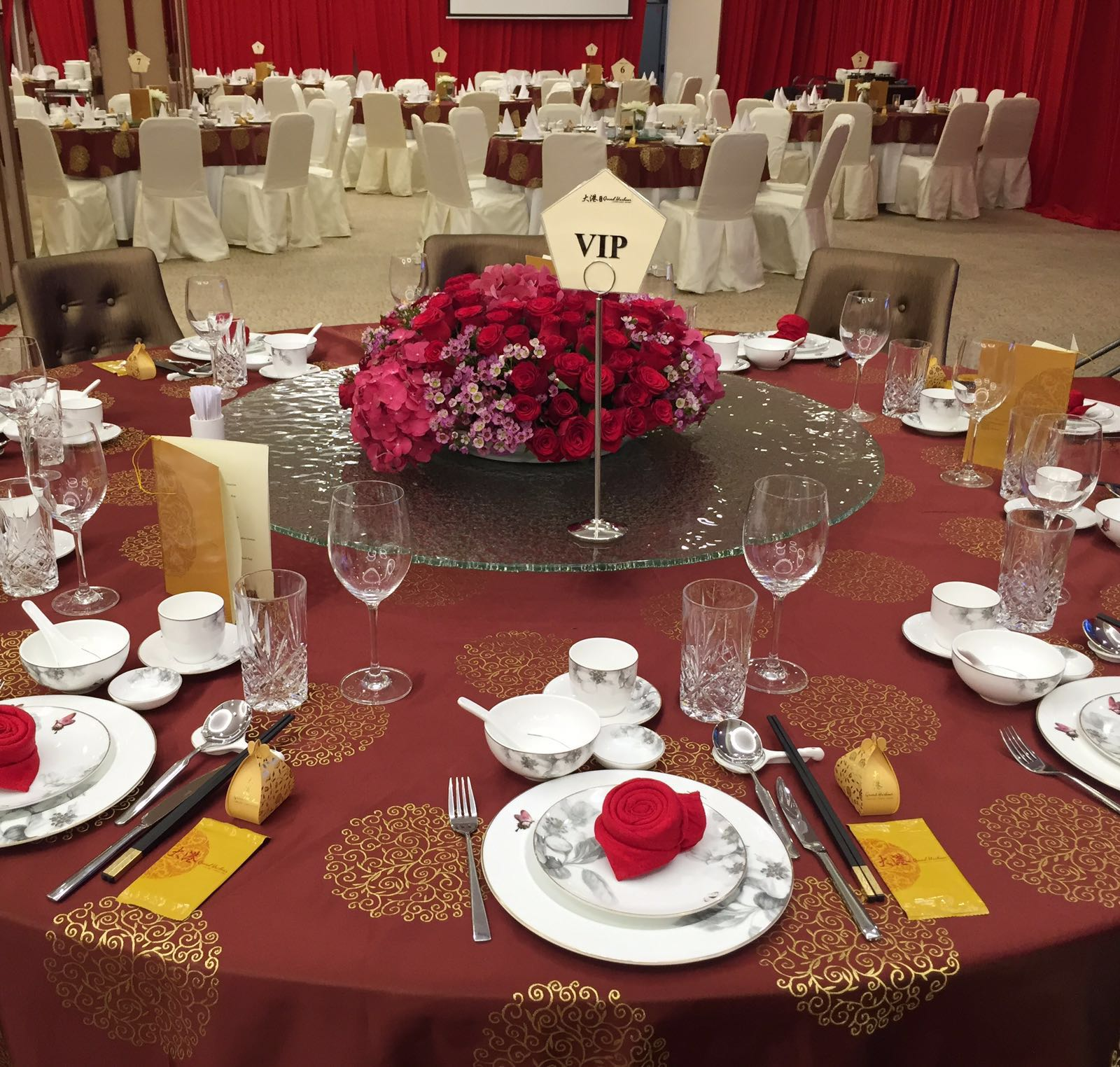 VIP Wedding Table Setting & Wedding u0026 Events | GRAND HARBOUR