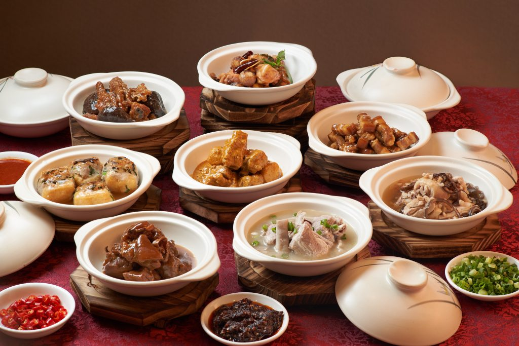 Claypot Dishes Group Shot